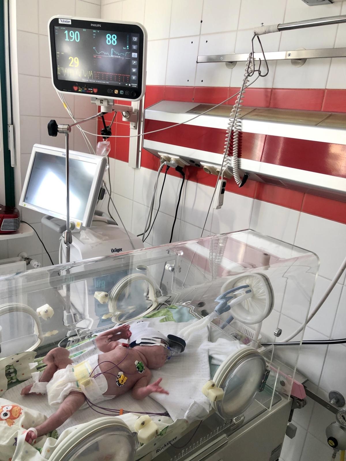 sprzęt WOŚP szpital Zdroje