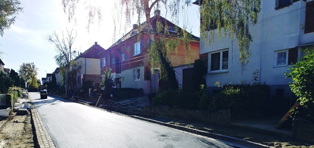 ulica Libelta remont