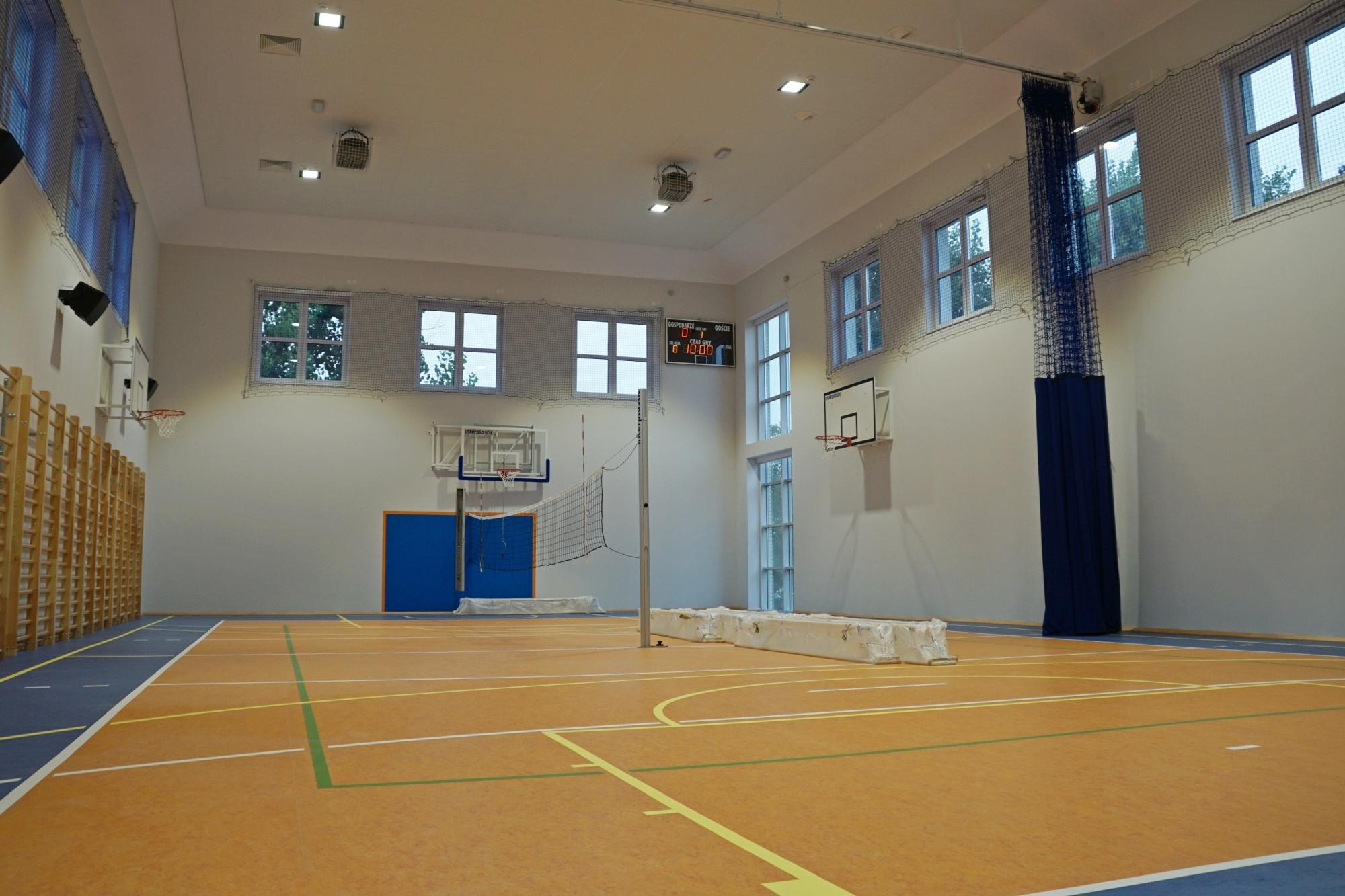 SP 48 sala gimnastyczna
