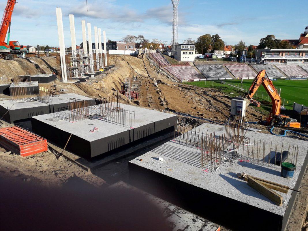 Stadion Miejski wieści budowa