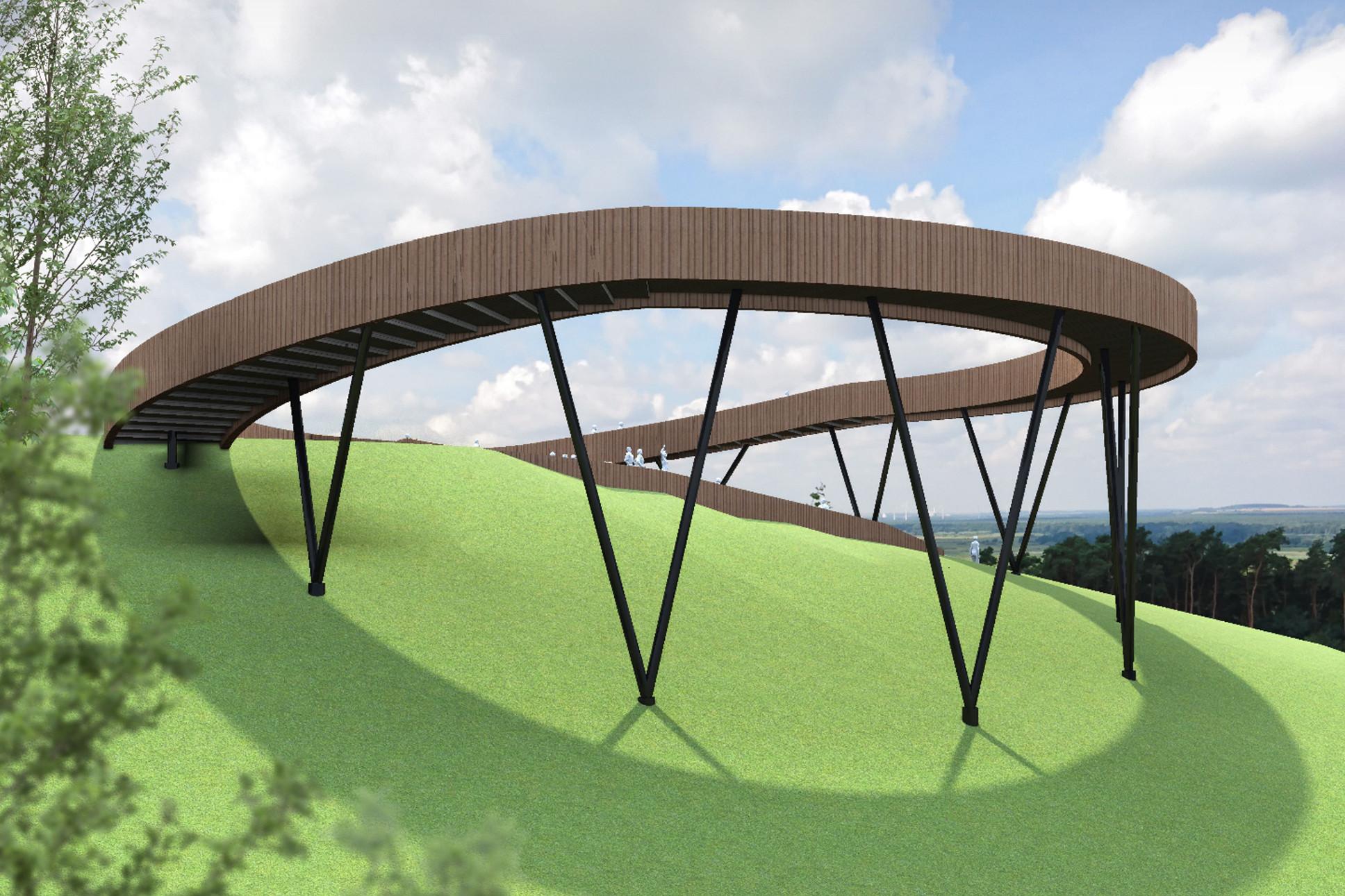 platforma widokowa Widuchowa
