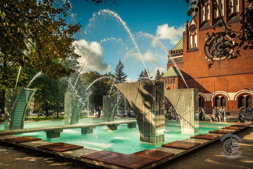 fontanna plac Zwycięstwa remont
