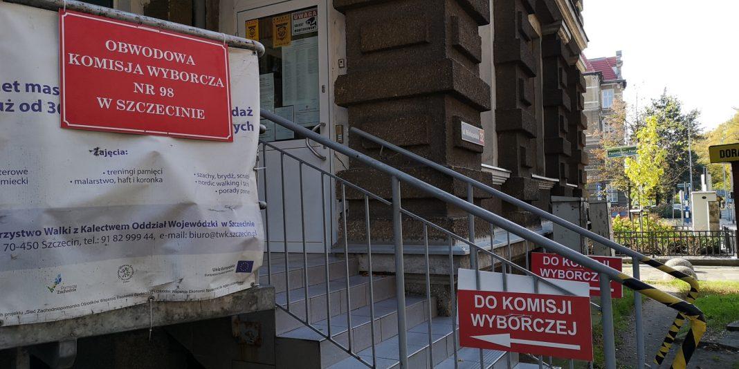 wybory 2019 wyniki okręg szczeciński