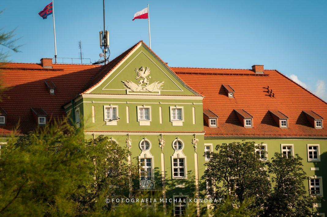 Urząd Miasta Szczecin próbna ewakuacja