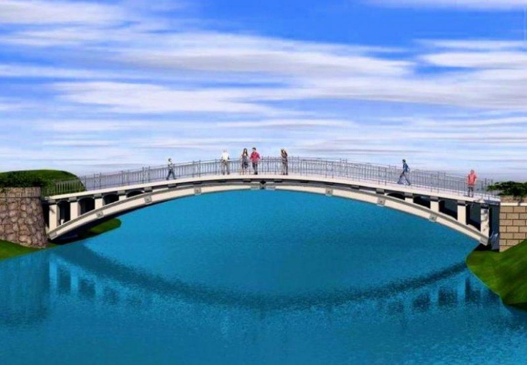 mostek Jezioro Rusałka remont wykonawca