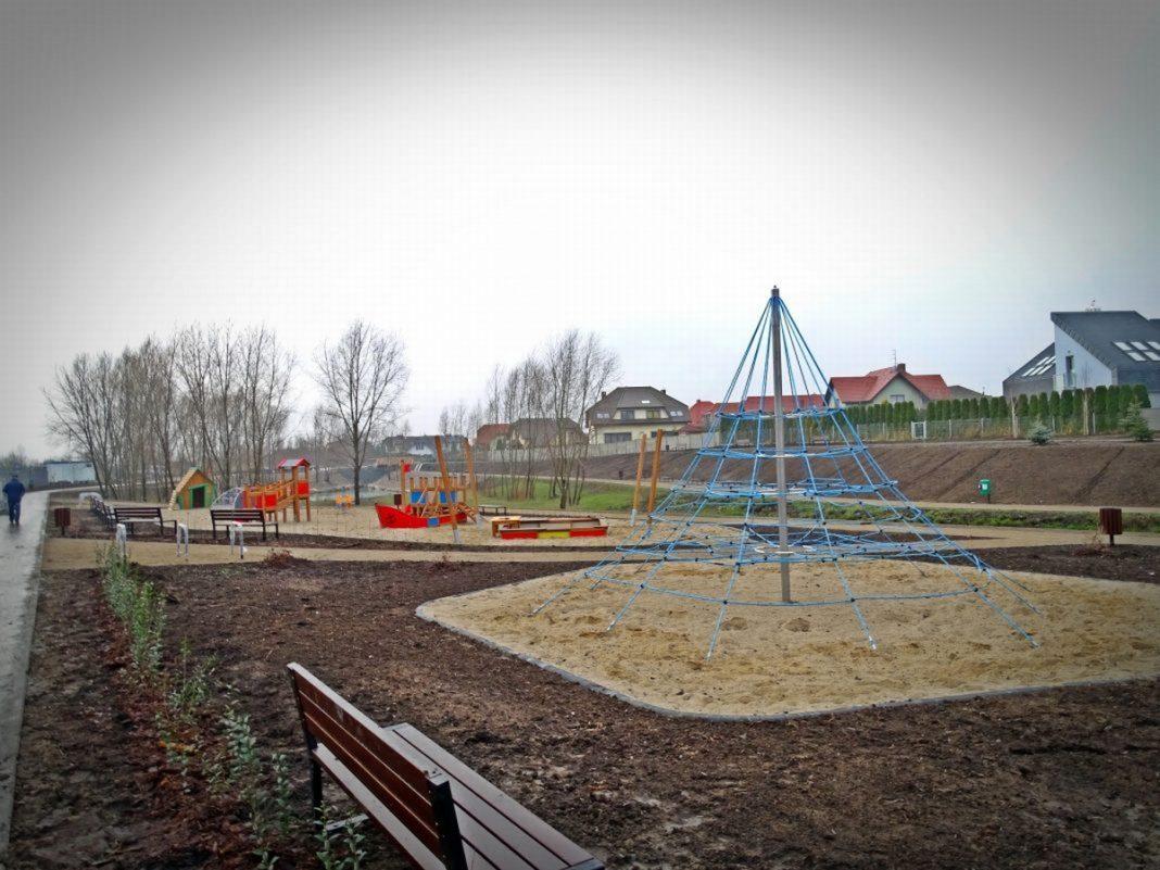 Park Warszewo-Podbórz przetarg