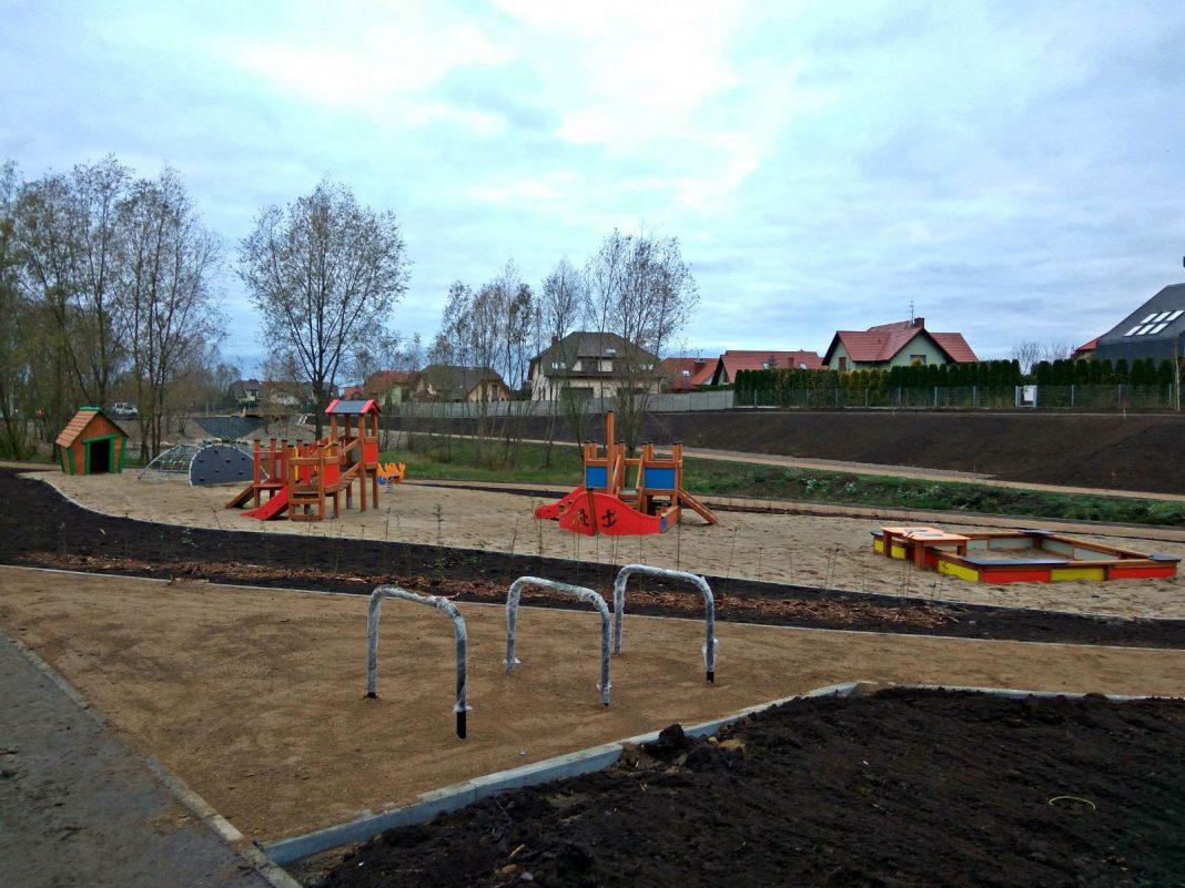 Park Warszewo-Podbórz drugi etap przetarg