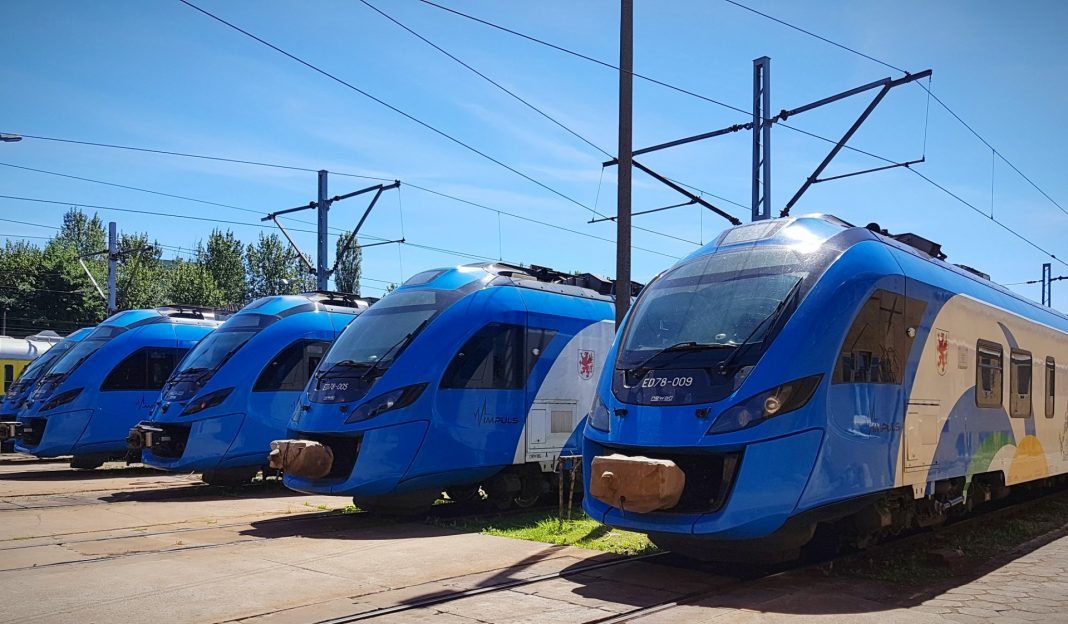 bilety okresowe ZDiTM pociągi REGIO