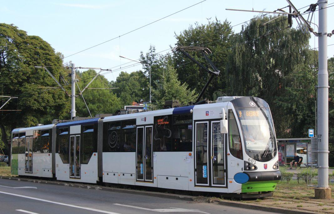 ruch tramwajowy wstrzymanie al. Wojska Polskiego
