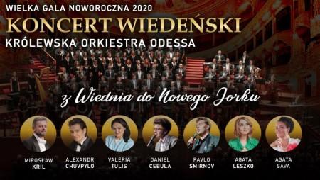 Noworoczna Gala 2020 • Koncert Wiedeński • Królewska Orkiestra Odessa
