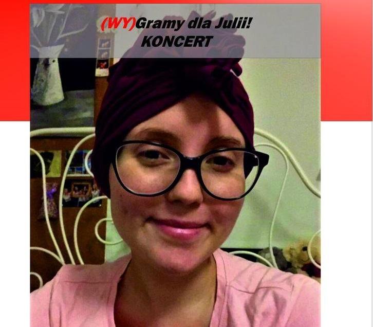 Koncert charytatywny (Wy)Gramy dla Julii!