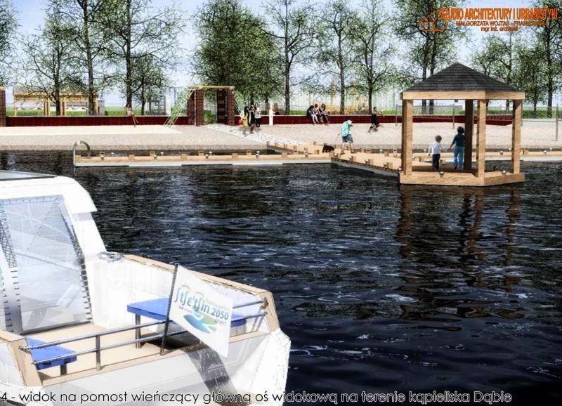 kąpielisko Dąbie przebudowa przetarg oferty