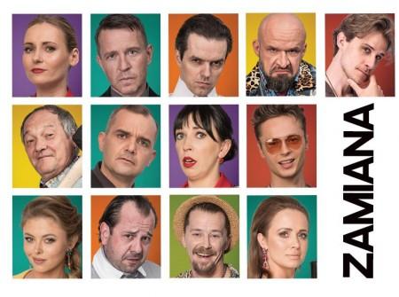Zamiana - spektakl komediowy w gwiazdorskiej obsadzie