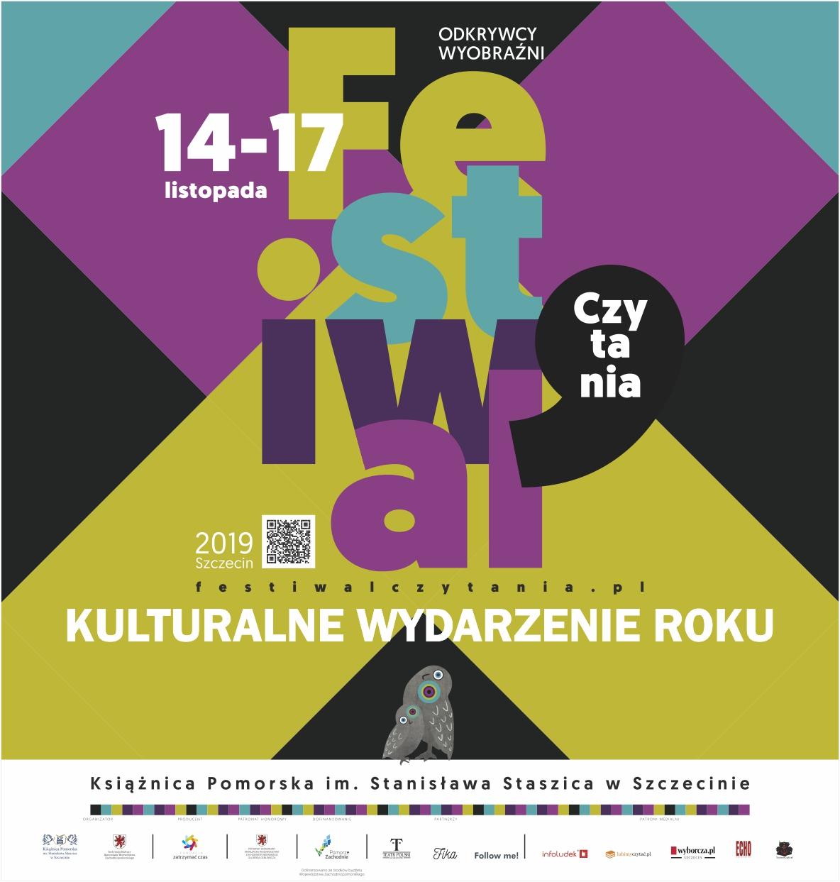 """Festiwal Czytania """"Odkrywcy Wyobraźni"""""""