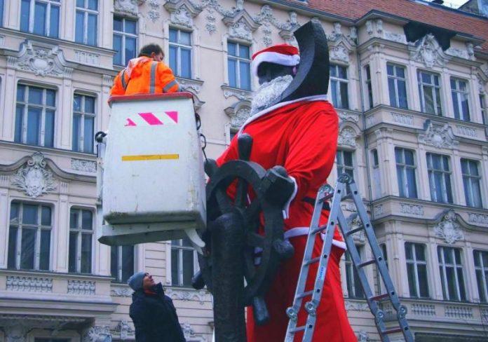 marynarz strój święty Mikołaj