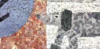 mozaika Podwórko