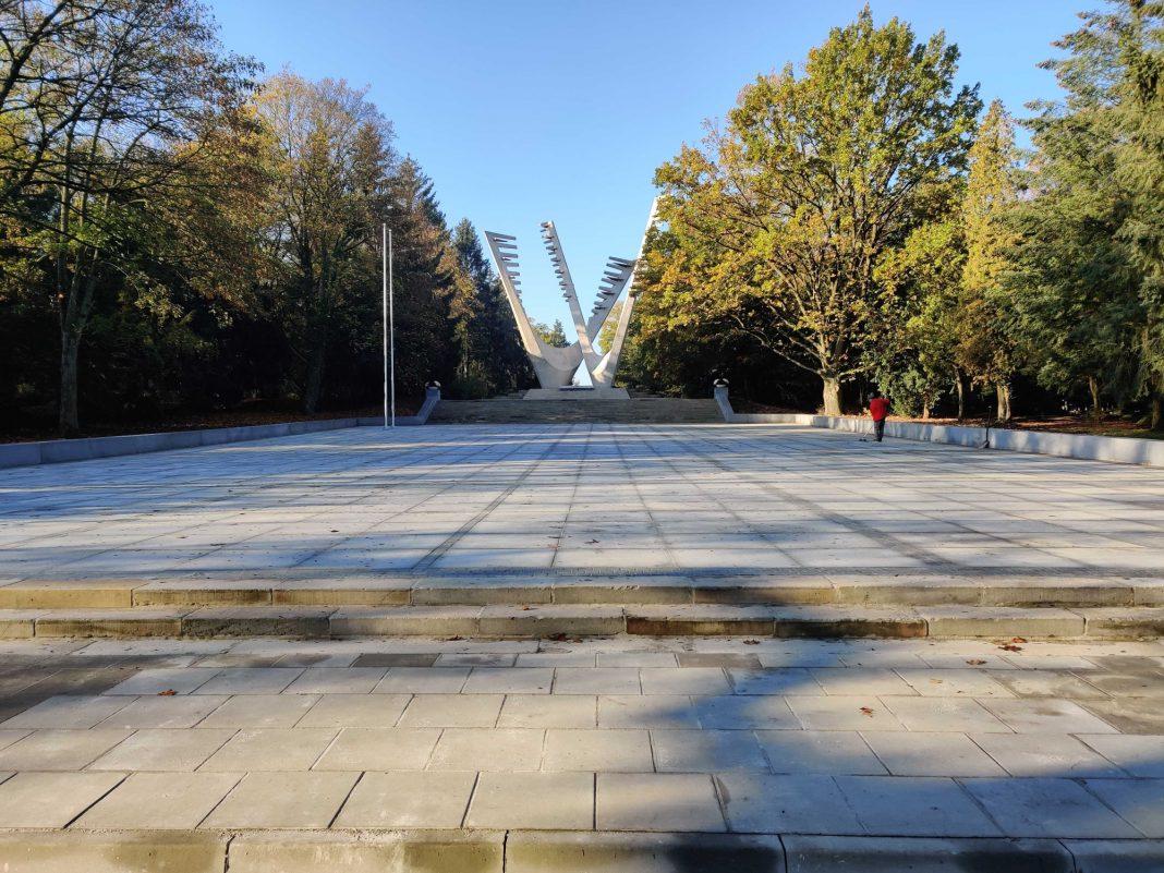 Plac Defiladowy gotowy