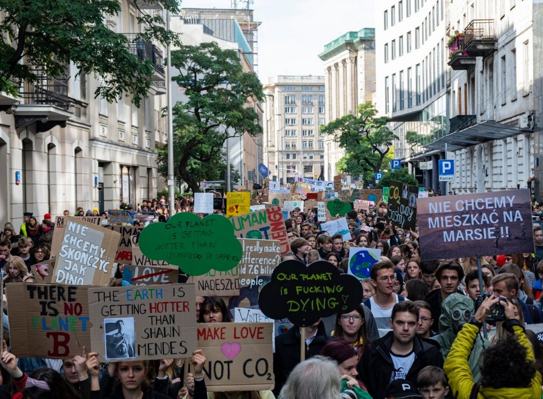 Młodzieżowy Strajk Klimatyczny listopad 2019