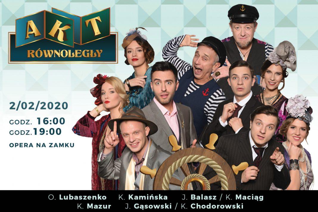 Spektakl AktRównoległy Szczecin 2020