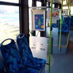 plakaty przedszkolaki autobusy