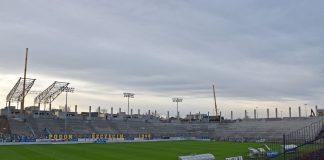 Stadion Miejski postęp prac grudzień 2019