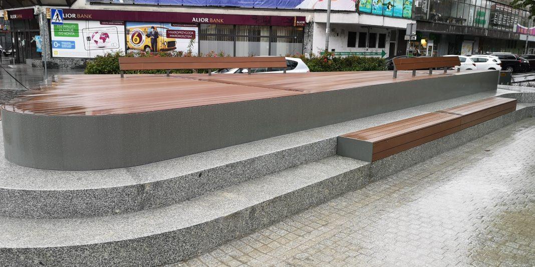 plac Adamowicza remont