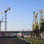 dźwig budowa Morskie Centrum Nauki