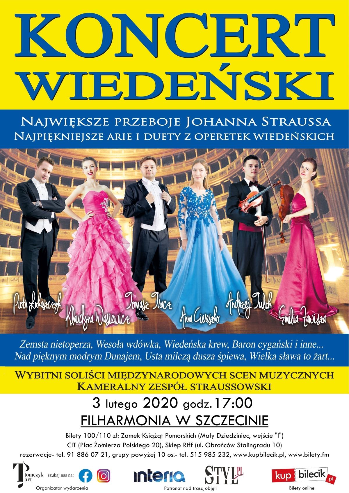 Noworoczny Koncert Wiedeński Szczecin 2020