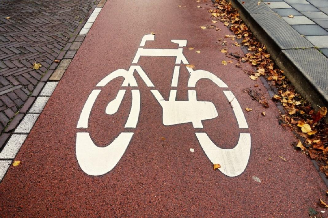 ciąg pieszo-rowerowy Szczecin Warnik