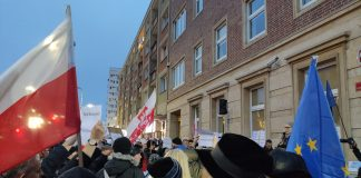 sądy protest Szczecin grudzień 2019