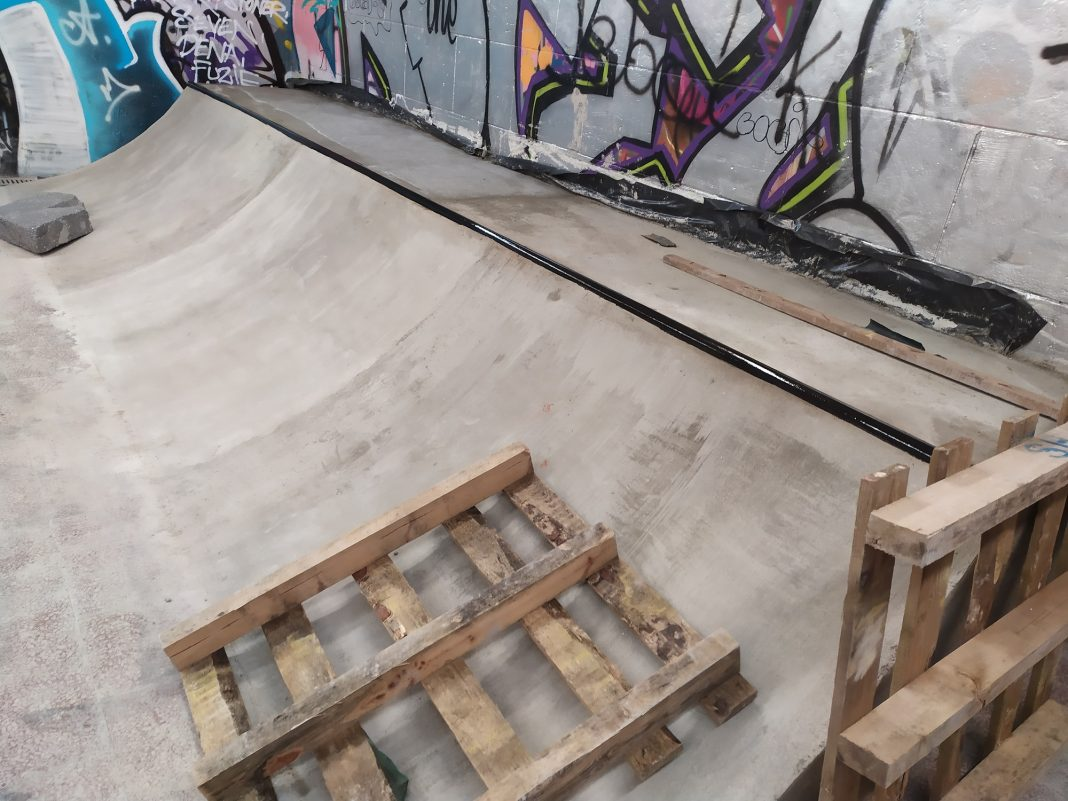 skatepark przejście podziemne otwarcie