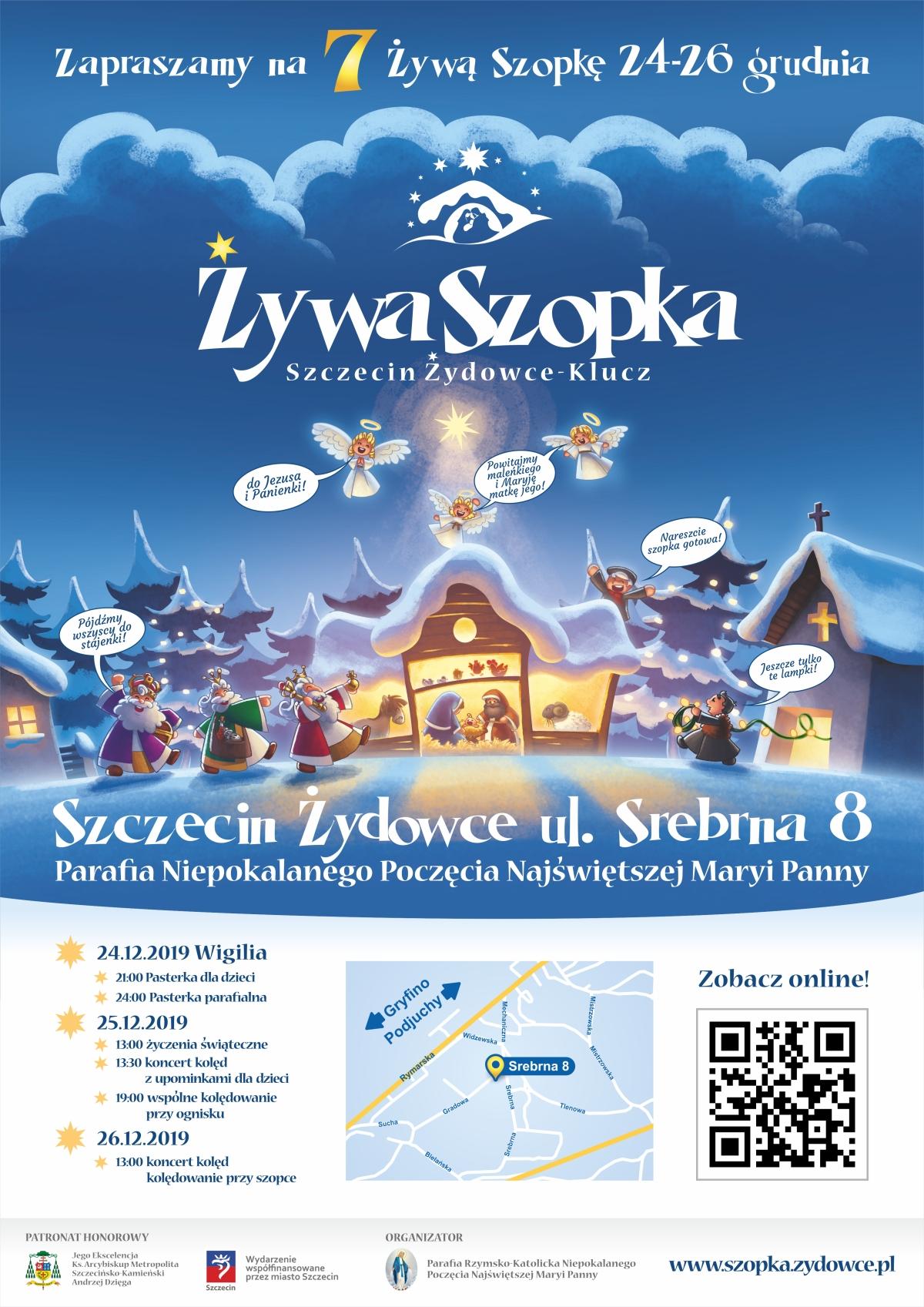 żywe szopki Szczecin 2019