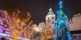 iluminacja świąteczna zamek książąt pomorskich