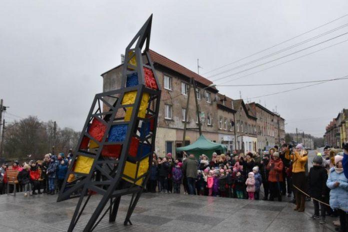 rzeźba Szczecińskie żurawie