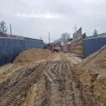 Węzeł Łękno postęp prac styczeń 2020