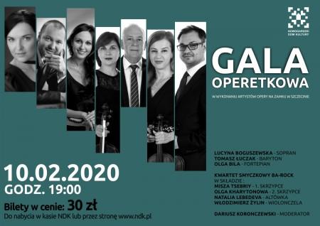 Gala Operetkowa w NDK