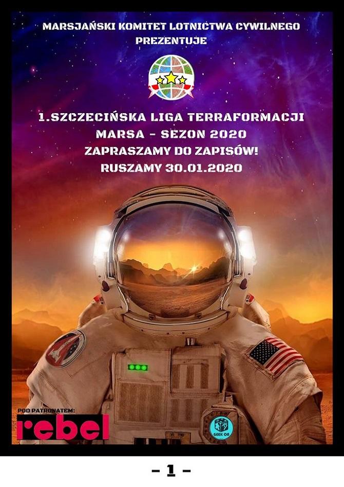 Szczecińska Liga Terraformacji Marsa