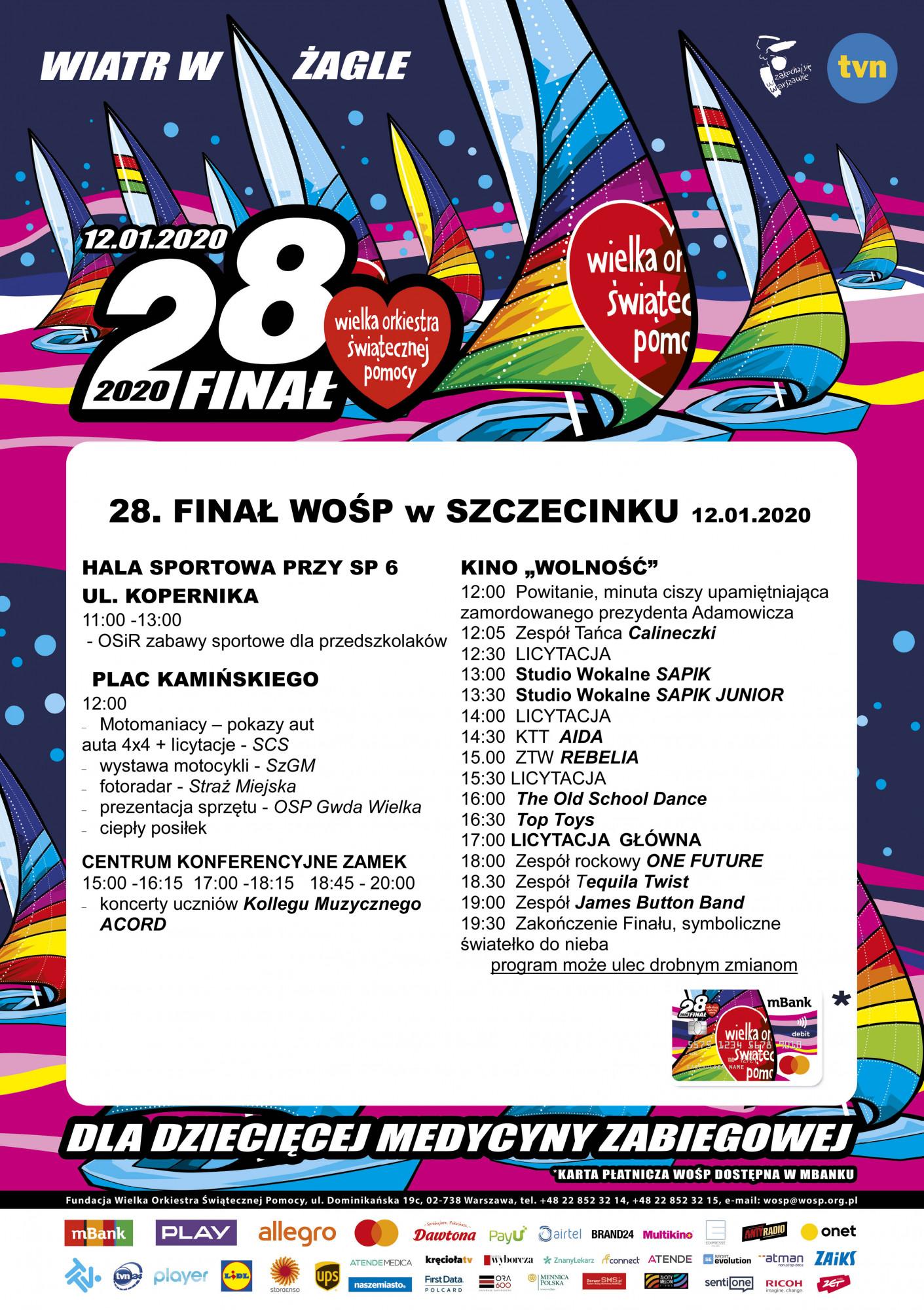 28 Finał WOŚP w Szczecinku