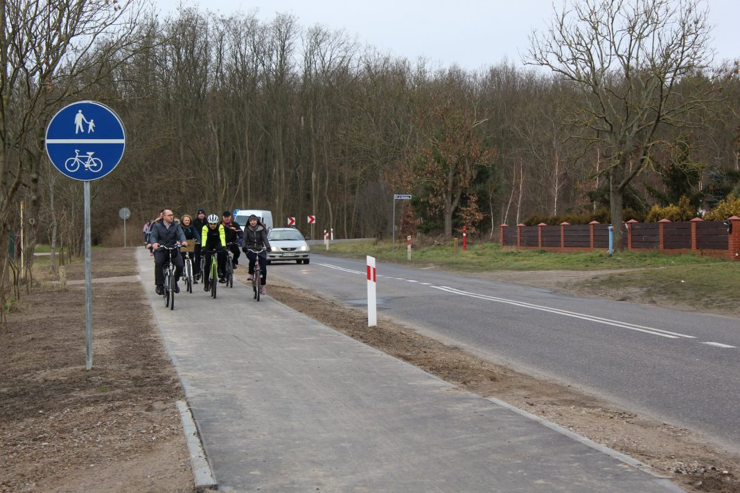 trasa rowerowa Bielkowo-Kobylanka