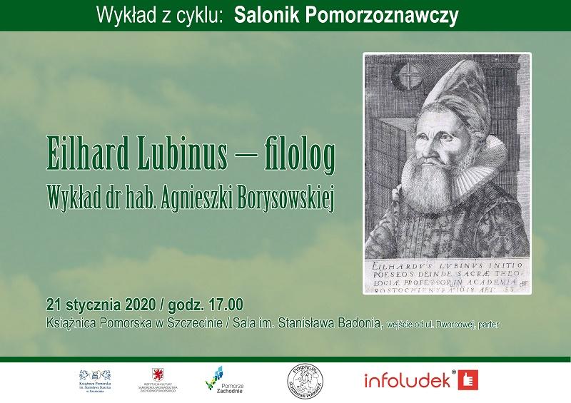 Wykład: Eilhard Lubinus – filolog