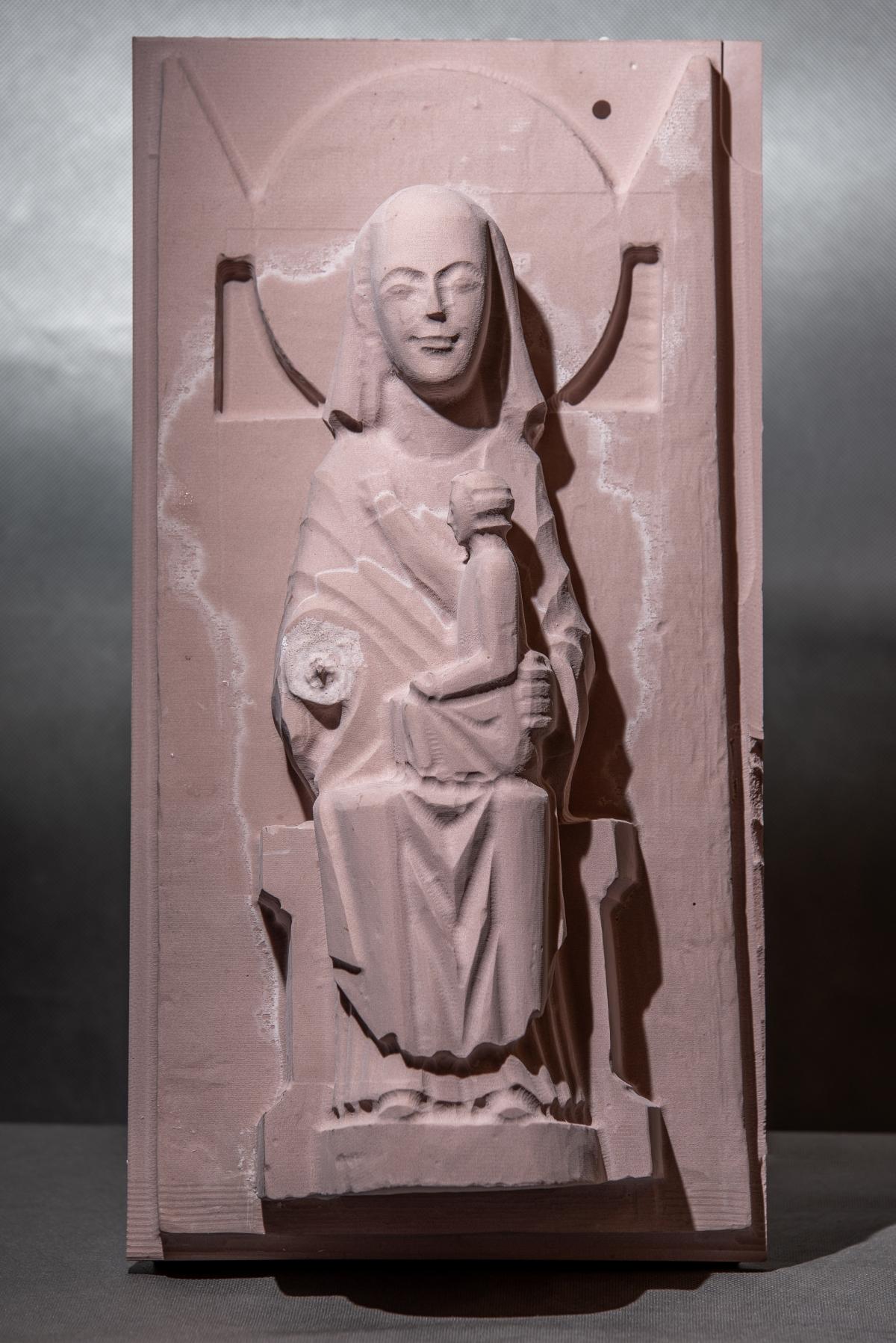 repliki rzeźb frezarka ZUT Szczecin