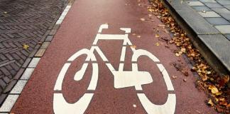 ścieżki rowerowe ulica Łubinowa Prawobrzeże