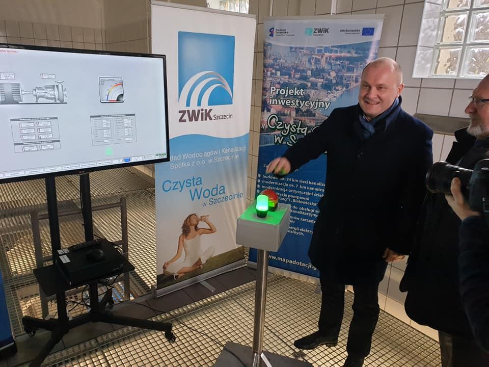 turbina prądotwórcza ZWiK Szczecin