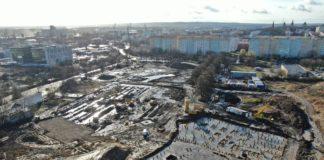 aquapark Fabryka Wody postęp prac luty 2020