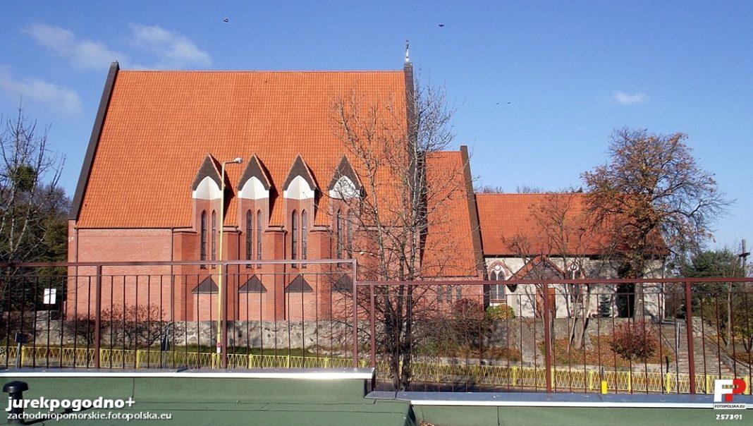 działka kościół osiedle Nad Rudzianką