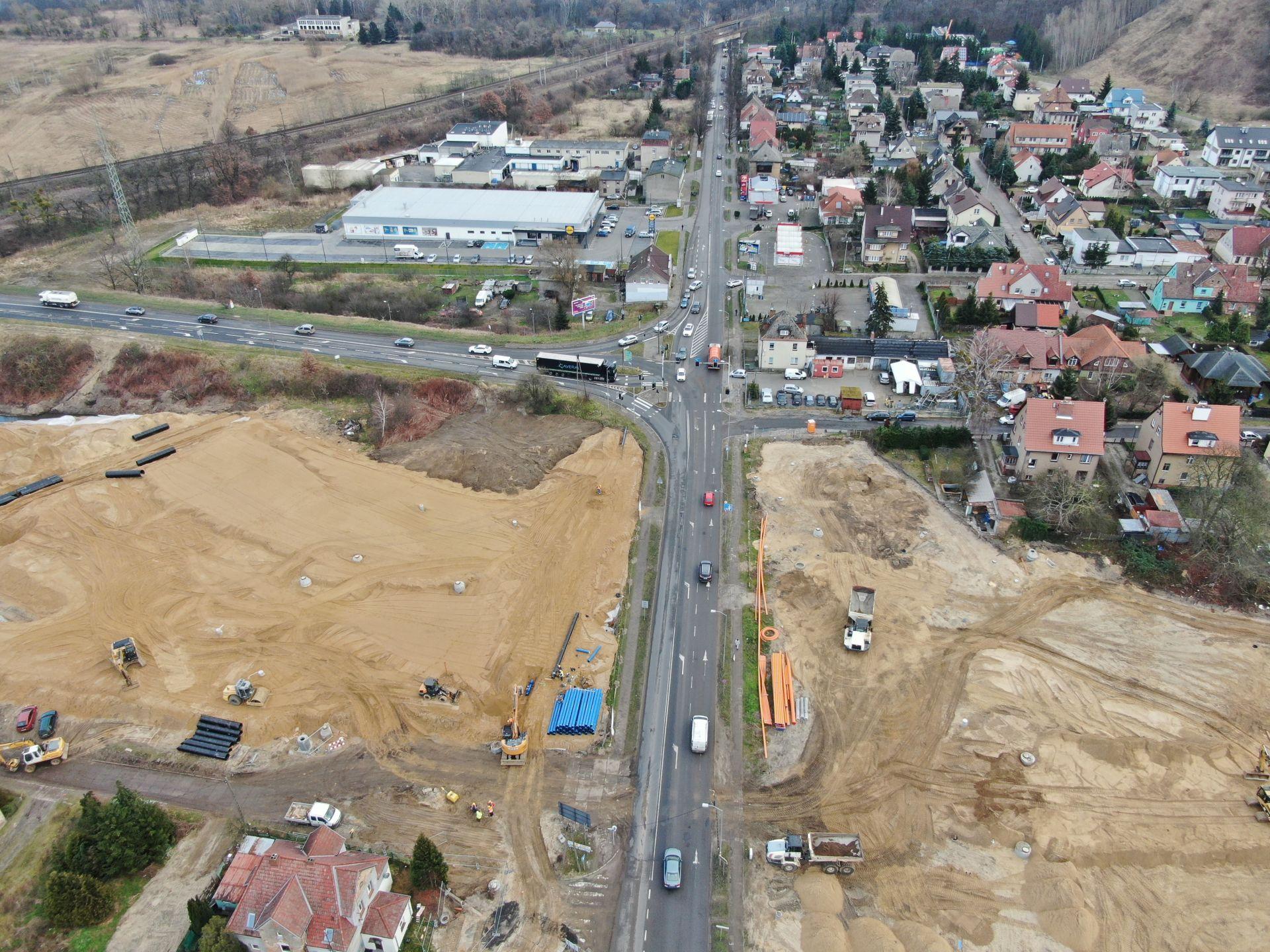 Węzeł Granitowa zamknięcie ulica Krygiera