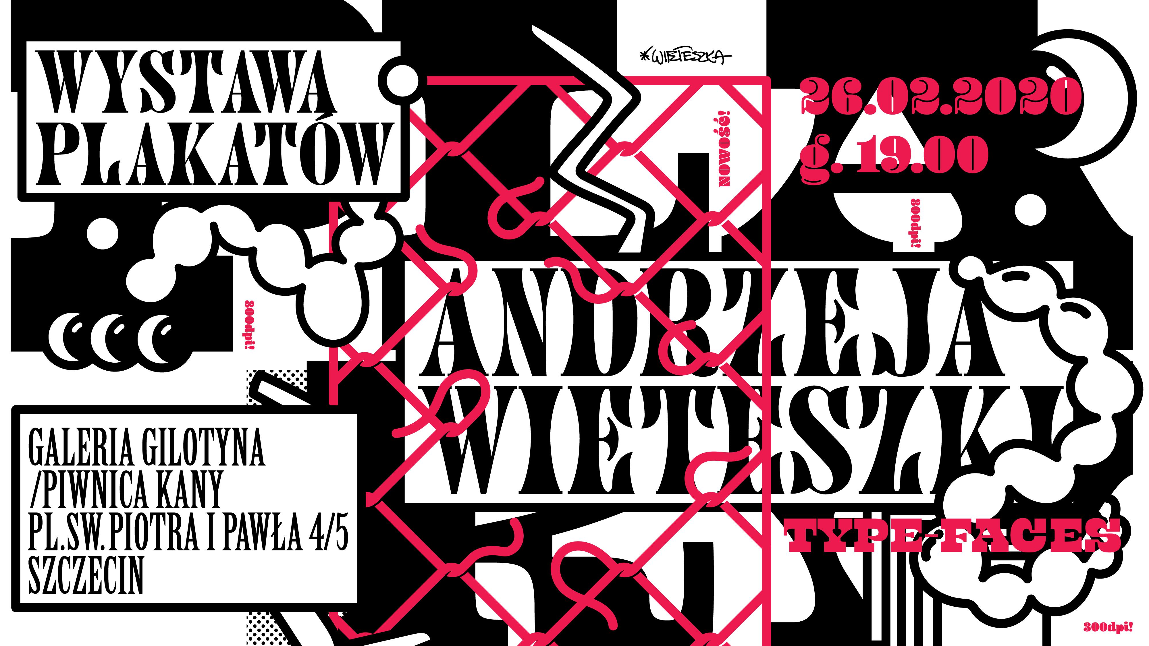Wernisaż wystawy Andrzeja Wieteszki