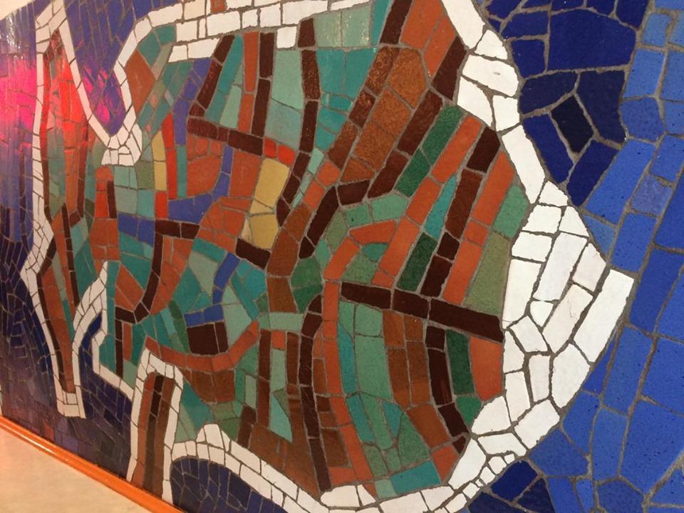 Pierwszy spacer mozaikowy