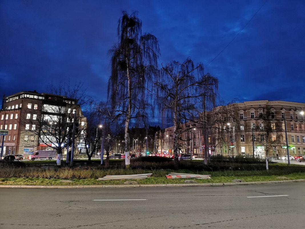 wycinka drzew plac Szarych Szeregów