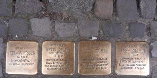 kamienie pamięci Stolpersteiny Szczecin